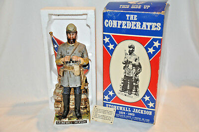 Americana Porcelain McCormick Distilling Co. Decanter Stonewall Jackson with box