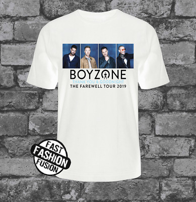 Boyzone Tshirt Farewell Tour Thank You goodnight Boy Band