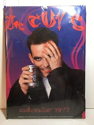 The Cure Vintage 1997 Calendar Robert Smith New in Package never opened