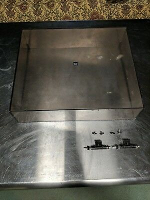 Dual 1257 Turntable Dust Cover With Hinges