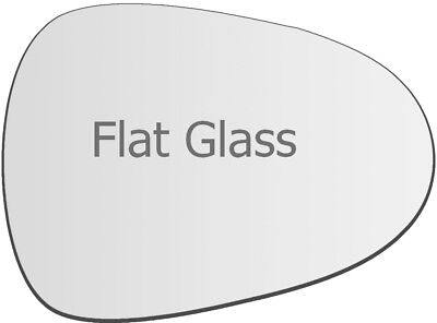 WING MIRROR GLASS HEATED WITH BASE PLATE,LEFT SIDE SEAT IBIZA 2017-/>2019 DOOR