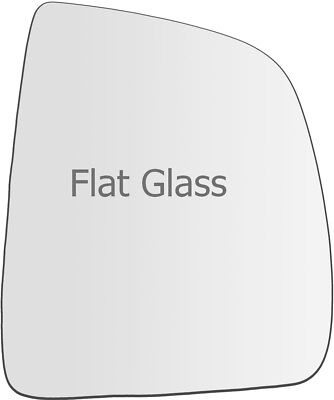 PLATE WING MIRROR GLASS FOR VAUXHALL COMBO C 01-11 PASSENGER NEAR SIDE FLAT