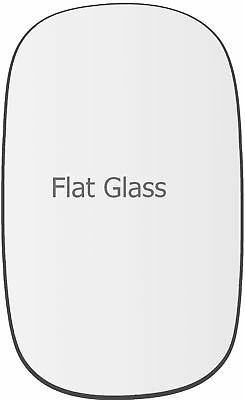 Left Passenger side Wing mirror glass for Fiat Doblo 2001-10 heated plate