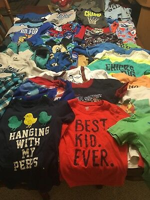 Lot Of Boys 4T Clothes 33 Pieces!