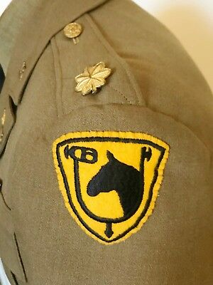 61St Cavalry Division Officer's Uniform - 1930's - Organized Reserve