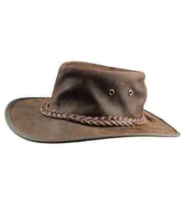 Brumby Saddler Leather Hat