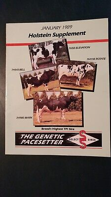 "1989 Select Sires Inc. Holstein Dairy Cattle Sire Directory - ""blackstar"""