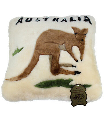 Sheepskin Kangaroo Cushion Cover