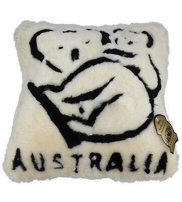 Sheepskin Koala Cushion Cover