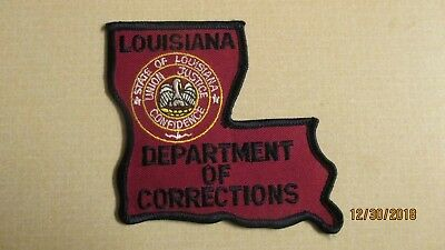 Louisiana Department of Corrections Shoulder Patch New