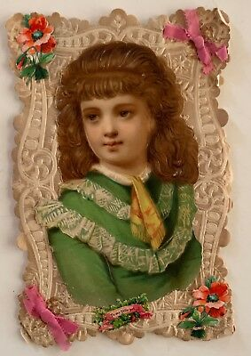 Antique Victorian Stand-up Valentine