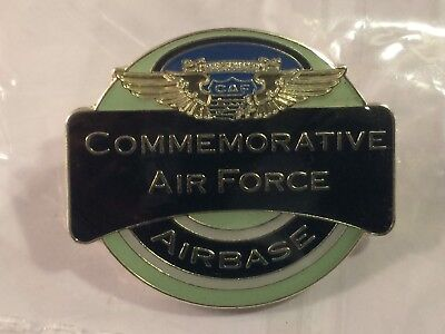 Commemorative Air Force Airbase CAF Lapel Pin Mint in Sealed Bag VHTF