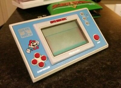 Super Mario Bros. - Game and Watch - Nintendo - TESTED and WORKING 1988