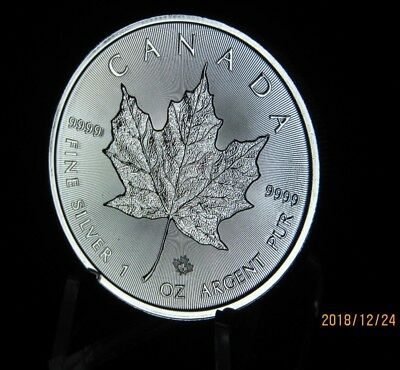 2019 Silver Maple Leaf Canada 1 oz Coin .9999  Here in STOCK