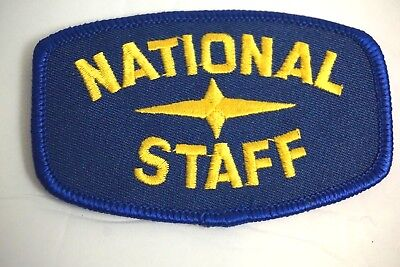 Royal Rangers National Staff Patch See On Blue  D2 P18