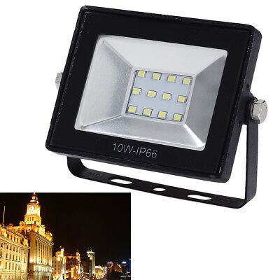 LED Floodlight 10W Motion PIR Sensor Security Outdoor Flood Light Lamp IP65