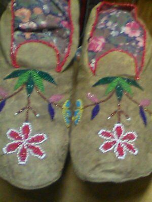 Eastern Sioux Moccasins.