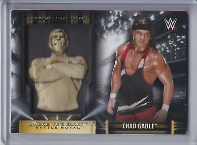 2019 Topps WWE Road to Wrestlemania Andre Giant Battle Royal Chad Gable #140/199