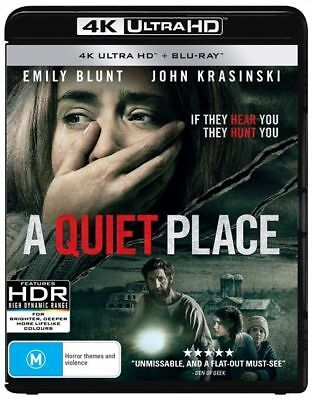 A Quiet Place 4K Blu-ray + Blu-ray SEALED