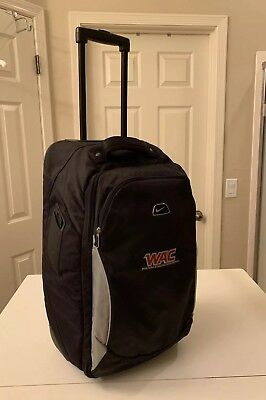 """Nike Roller Carry On Travel/ Computer Bag Rolling 22"""" Luggage"""