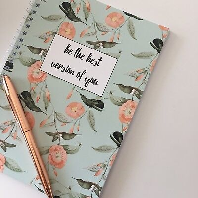 Weight Loss Planner, Food Diary, Meal Planner, Fitness Tracker, Workout Journal