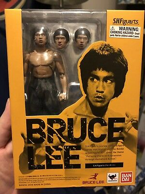 AUTHENTIC Bandai Tamashii S.H.Figuarts Bruce Lee Action Figure- American Seller