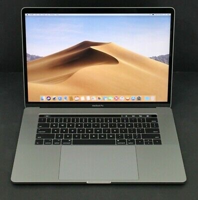 "Apple Macbook Pro 15"" 2017 Touch Bar Space Grey i7 2.9GHz 16GB 512GB SSD"