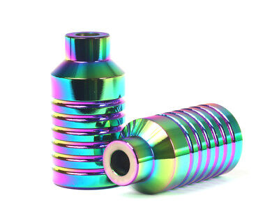 NEO-LITE V2.0 Pro Scooter Pegs Parts NeoChrome Pair