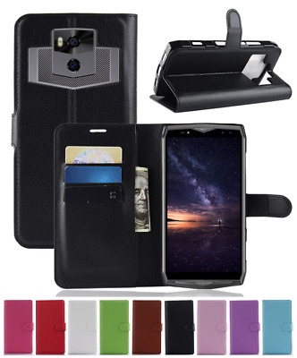 For Ulefone Power 5 Luxury PU Leather Flip Wallet Stand Case Cover