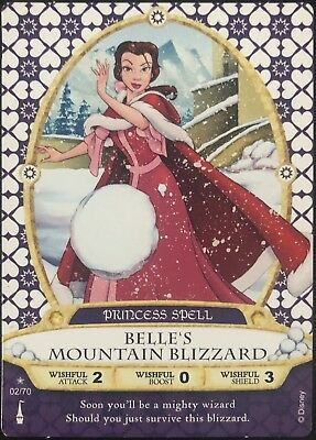 Sorcerer of the Magic Kingdom Card #02 Belle's Mountain Blizzard +2 - New