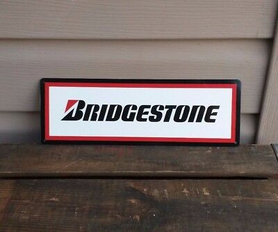 "Bridgestone Tires Man Cave Garage Shop Metal Sign Repro 12x12/"" 60495"