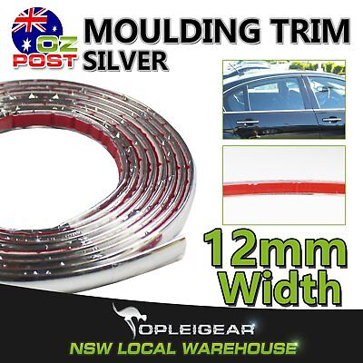 10M Car Chrome Styling Moulding Trim Strip Hood Door Bumper Wndow Trunk Decorate