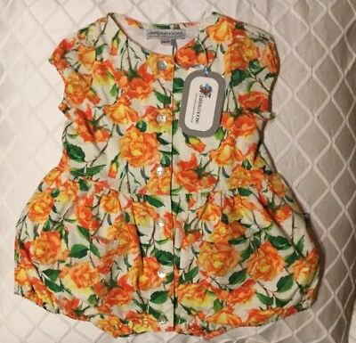 DAUSY AND MOOSE GIRLS ROMPER NEW - SIZE 6-12 Mths & 12-18mths