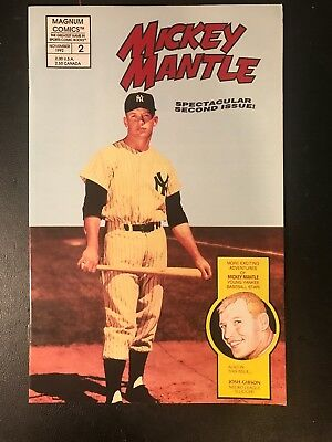 Mickey Mantle 2Nd Issue Comic Book (Nov 1992)
