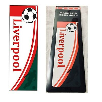 Joblot / wholesale of 95 magnetic Liverpool Football bookmarks - NEW
