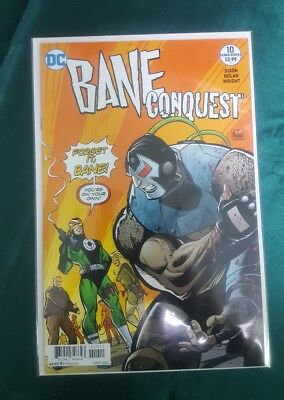 Bane Conquest #10 (Of 12) Dc Comics Near Mint/mint 3/7/18