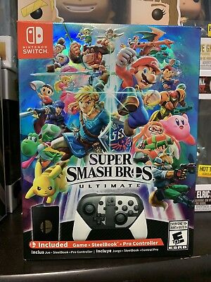 Super Smash Bros Ultimate Special Edition - Nintendo Switch - Brand New - Sealed