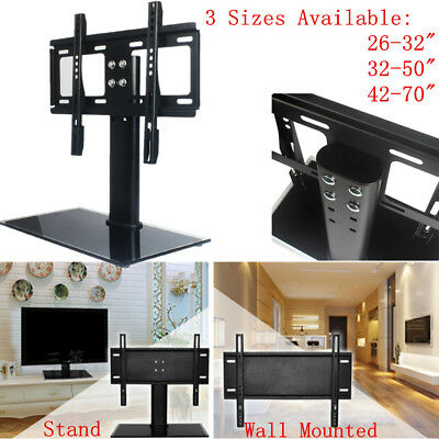 """Universal Adjustable Table TV Stand Bracket Mount Base for 26-70"""" LED LCD Screen"""