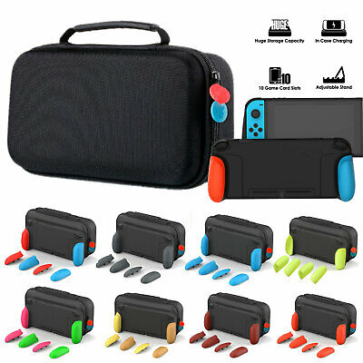 GripCase & Protective MaxCarry Case Hard Grip Shell for NS Switch Game Console