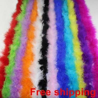 Fur Strips Ribbon Feather String Tape Sewing Trimming Craft Fluffy Decor 200cm