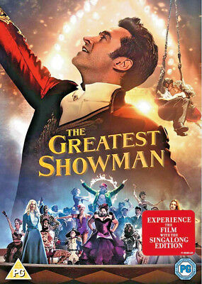 📀The Greatest Showman [2017]  Movie plus Sing-along Fast Free Dilivery📀