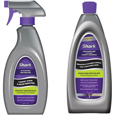 Sonic Duo* SHARK* Concentrate=7x1 Lavender 28-oz Rug & Carpet Odor Stain Cleaner