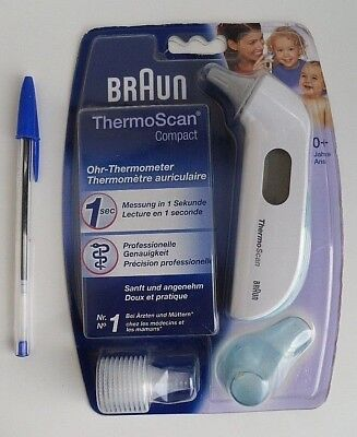 BRAUN thermo scan compact thermomètre auriculaire IRT3020CO 66026781 bébé