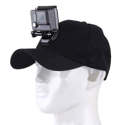 PULUZ Baseball Hat w/ J-Hook Buckle Mount for GoPro HERO6 5 4 Session 3+ Cameras