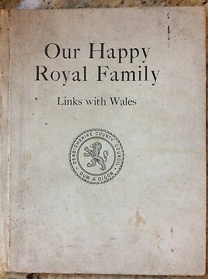 Our Happy Royal Family, Links With Wales, 1937, By Fred Williams