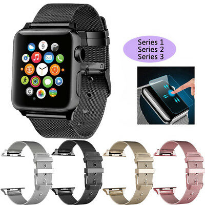 Stainless Steel iWatch Replacement Band 38/42mm For Apple Watch Series 3/2/1