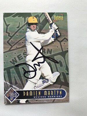 Damien Martyn signed card