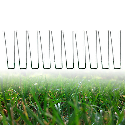50PCS U Shape Pegs ape Pegs S Staples Artificial Grass Turf Pins Galvanised iron