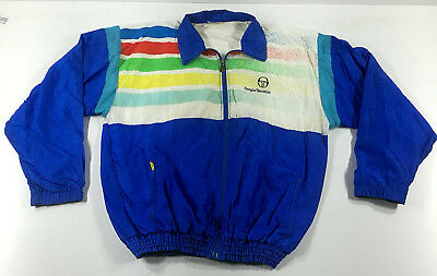 Sergio Tacchini Giacca Jacket Chaqueta Vintage Made In Italy