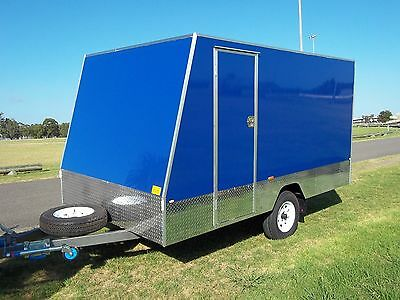 12' Enclosed Trailer  1450 kg GVM.